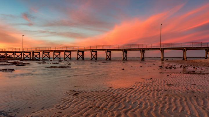 bridge pier structure landscape photography