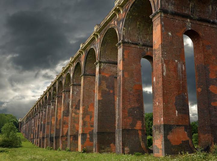 bridge viaduct structure landscape photography