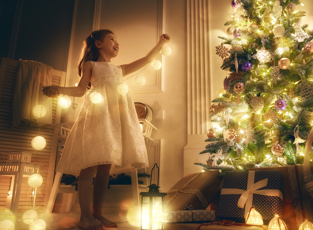 christmas tree fairy lights fairy lights twinkle sparkle light