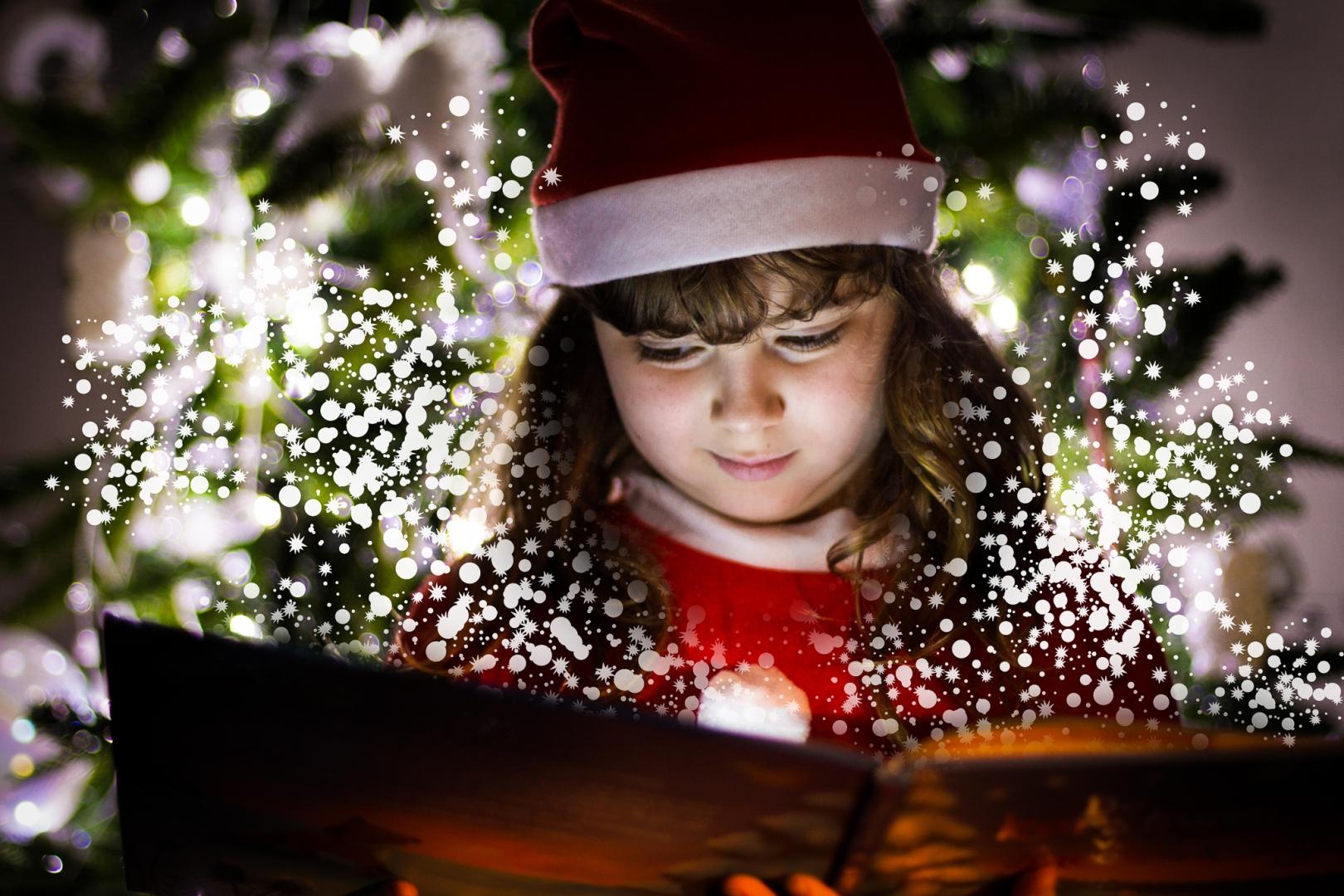 Andrea Swenson Girl with magic present
