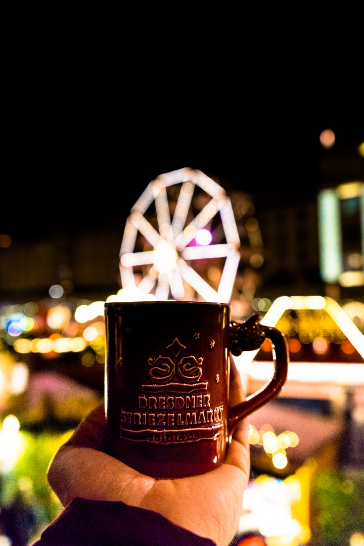 Kris Lucas Ferris wheel bokeh in a mug