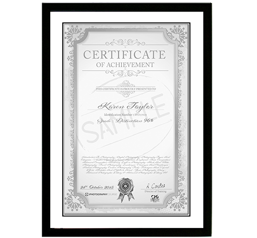 Photography Certificate | Certification in Photography