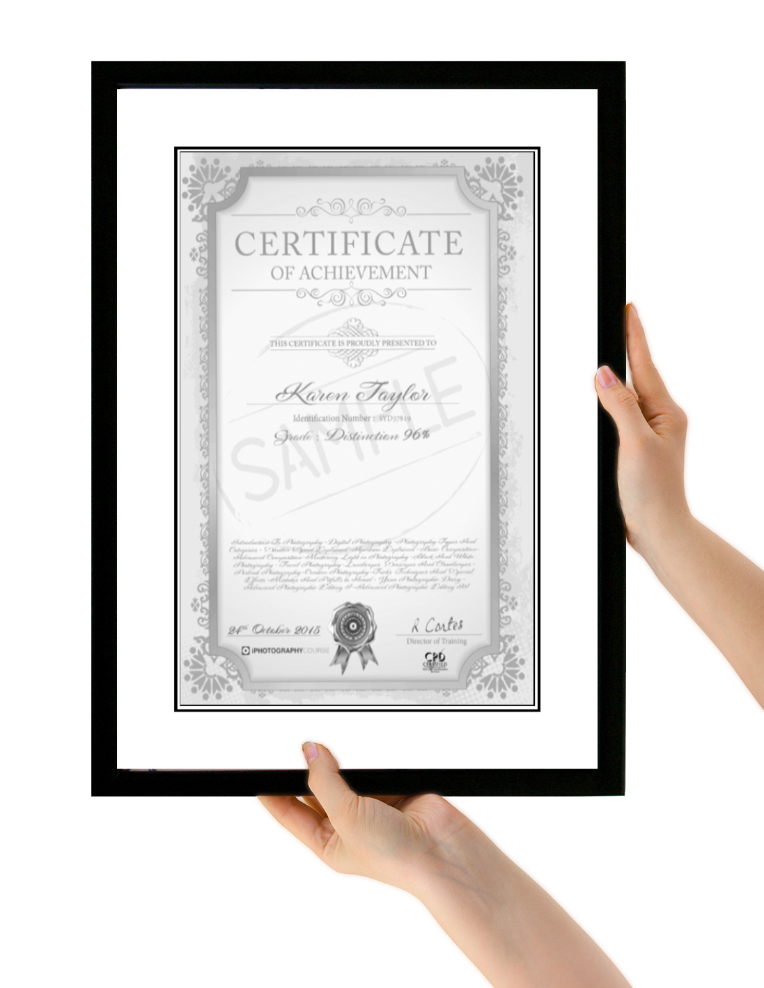 Photography Certificate Certification In Photography