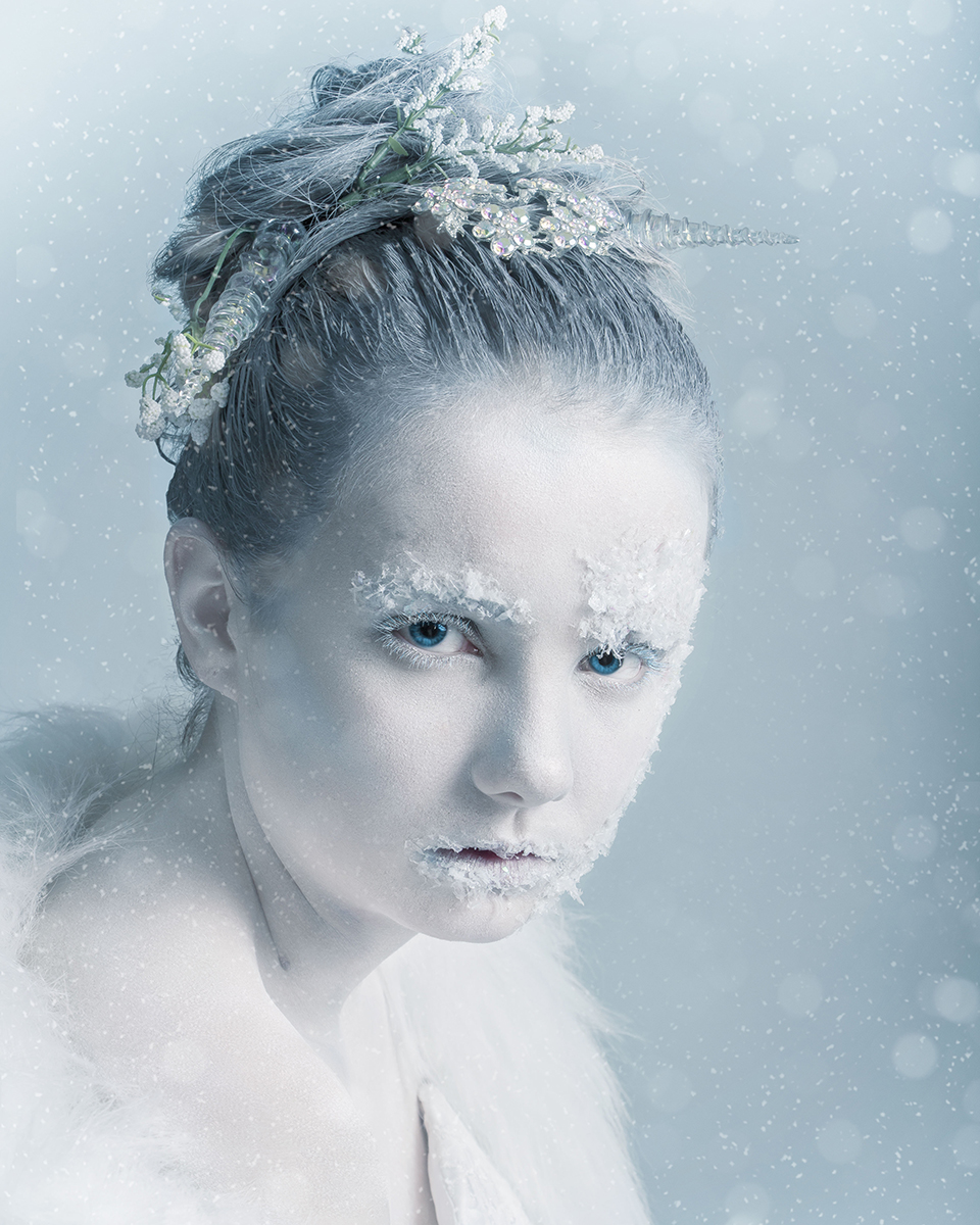 iPhotoshop Photoshop Adobe Winter Challenge Competition Photo Course Photography Editing Manipulation Artwork Masking Transform Photoshop for Beginners Novice Amateur Winter Cold Snow Frosty Competition Animals Fantasy Snow Queen Snow Leopard Ethereal