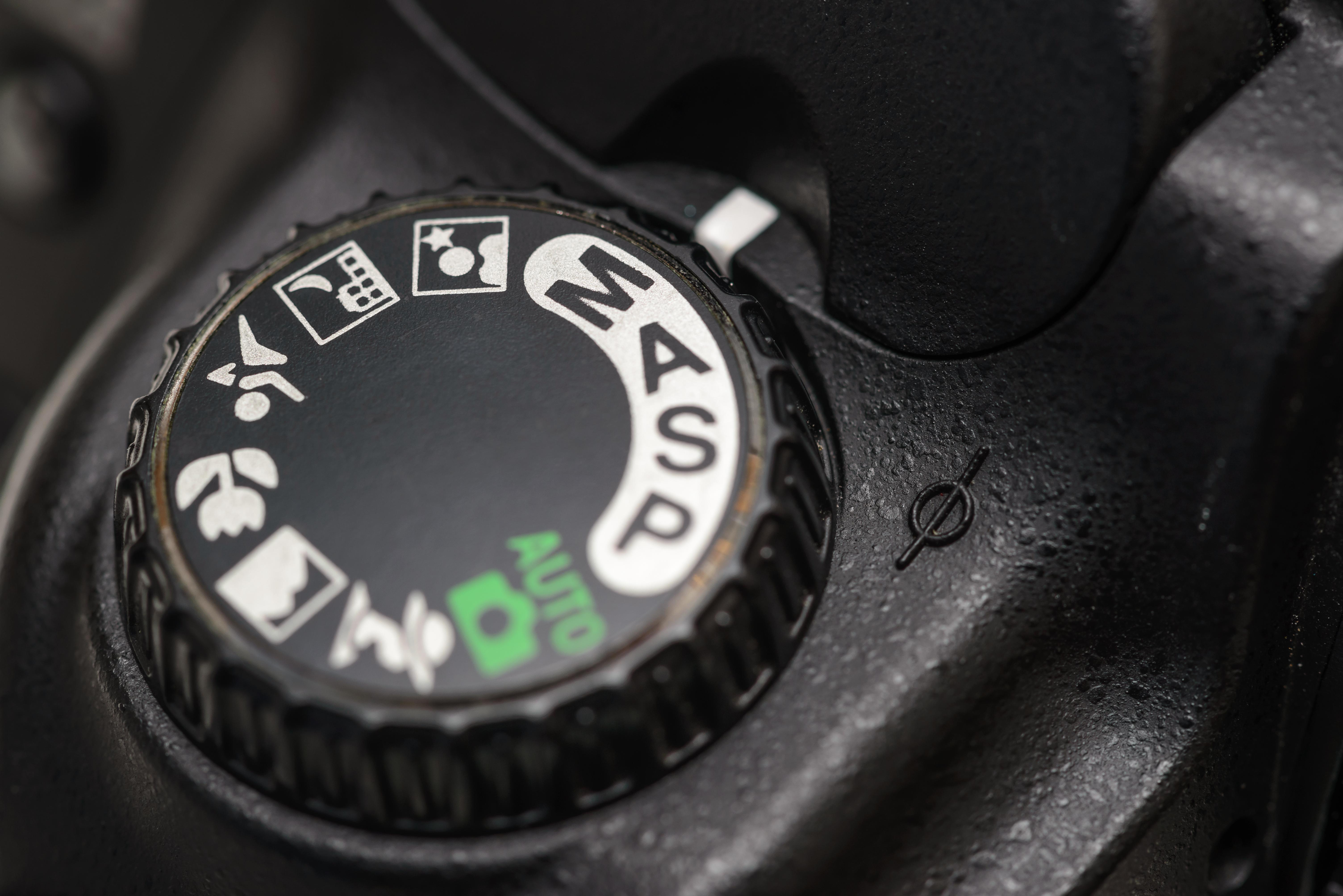 camera dial dslr menu