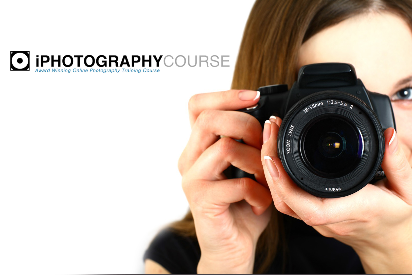 lady camera lens face #potd #weekendchallenge iphotography guide win award social interaction photography training