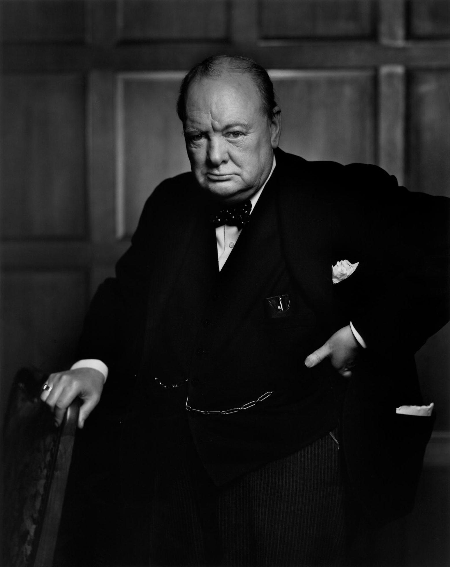 Iconic: Winston Churchill by Yousuf Karsh (1941)