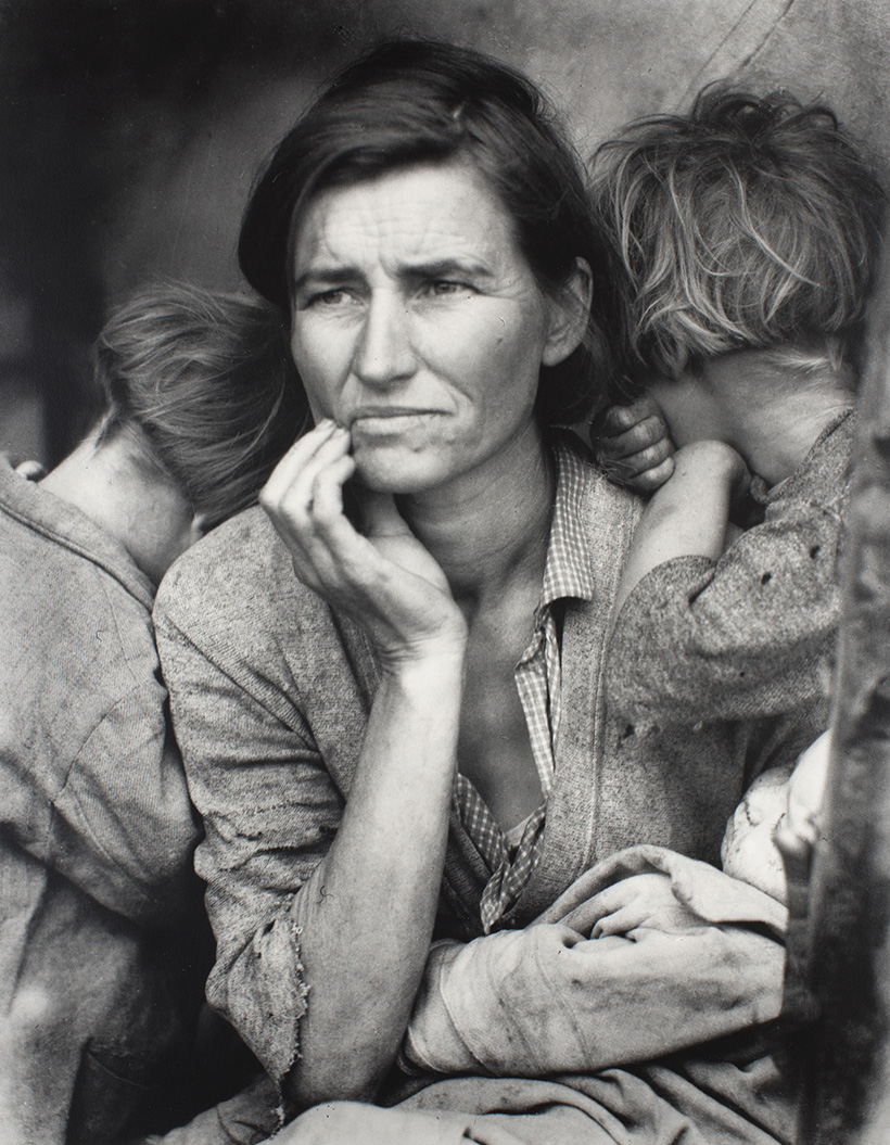 Iconic: Migrant Mother by Dorothea Lange (1936)