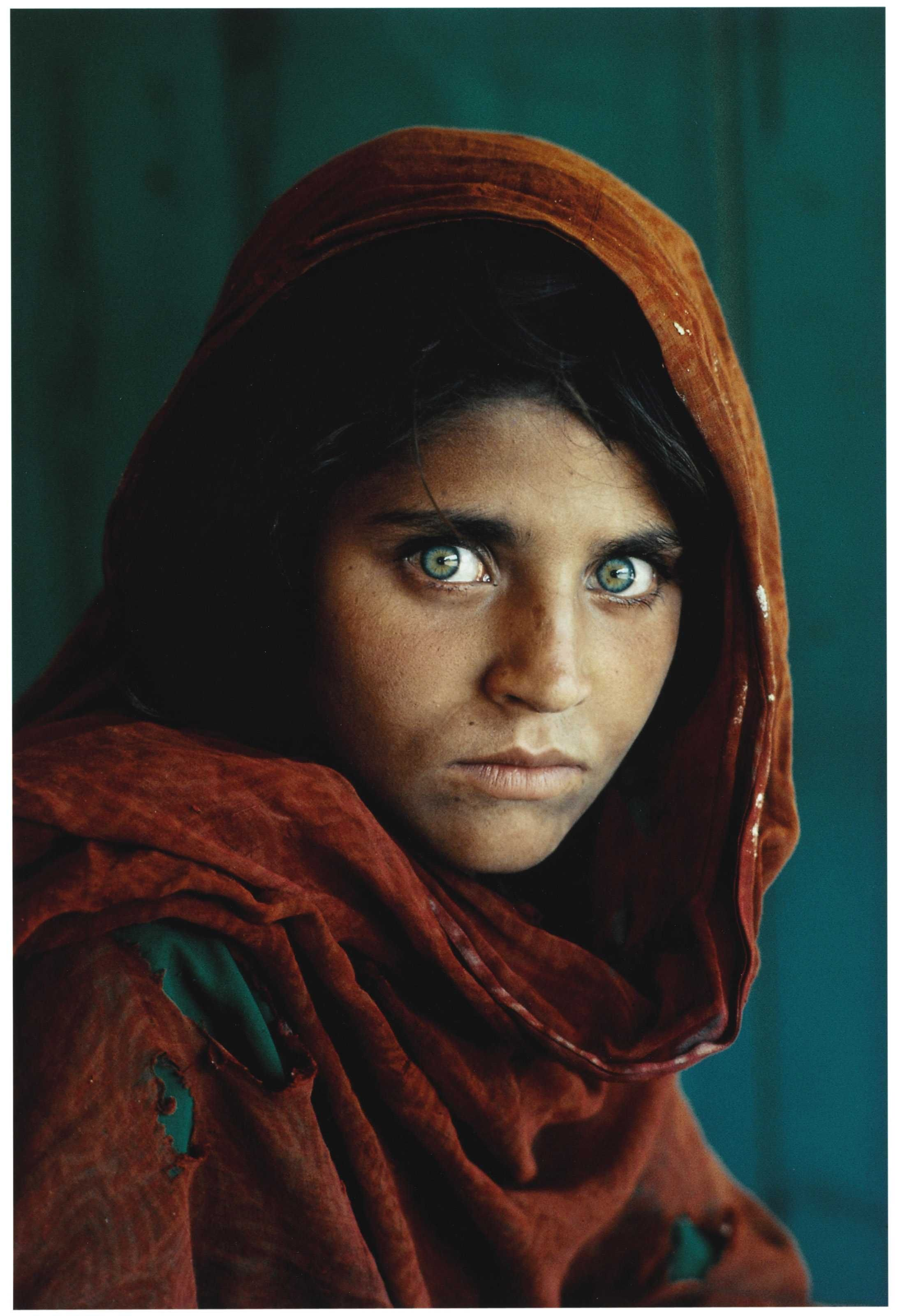 Iconic: The Afghan Girl by Steve McCurry (1984)