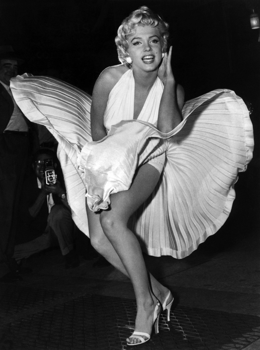 Iconic: Marilyn Monroe's Flying Skirt by Sam Shaw (1954)