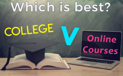 Online Course v College Degree