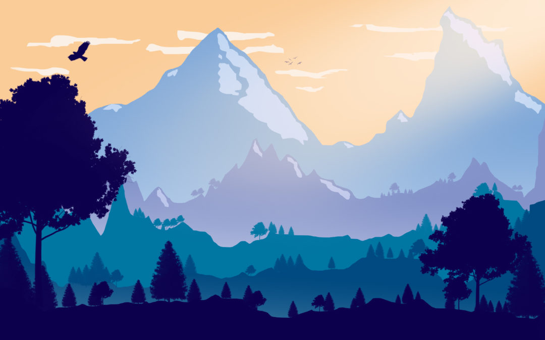 Create a 2D Landscape in Photoshop