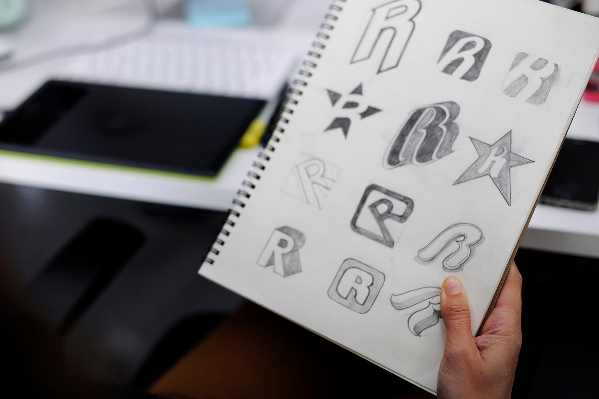writing doodle logo signature watermark paper