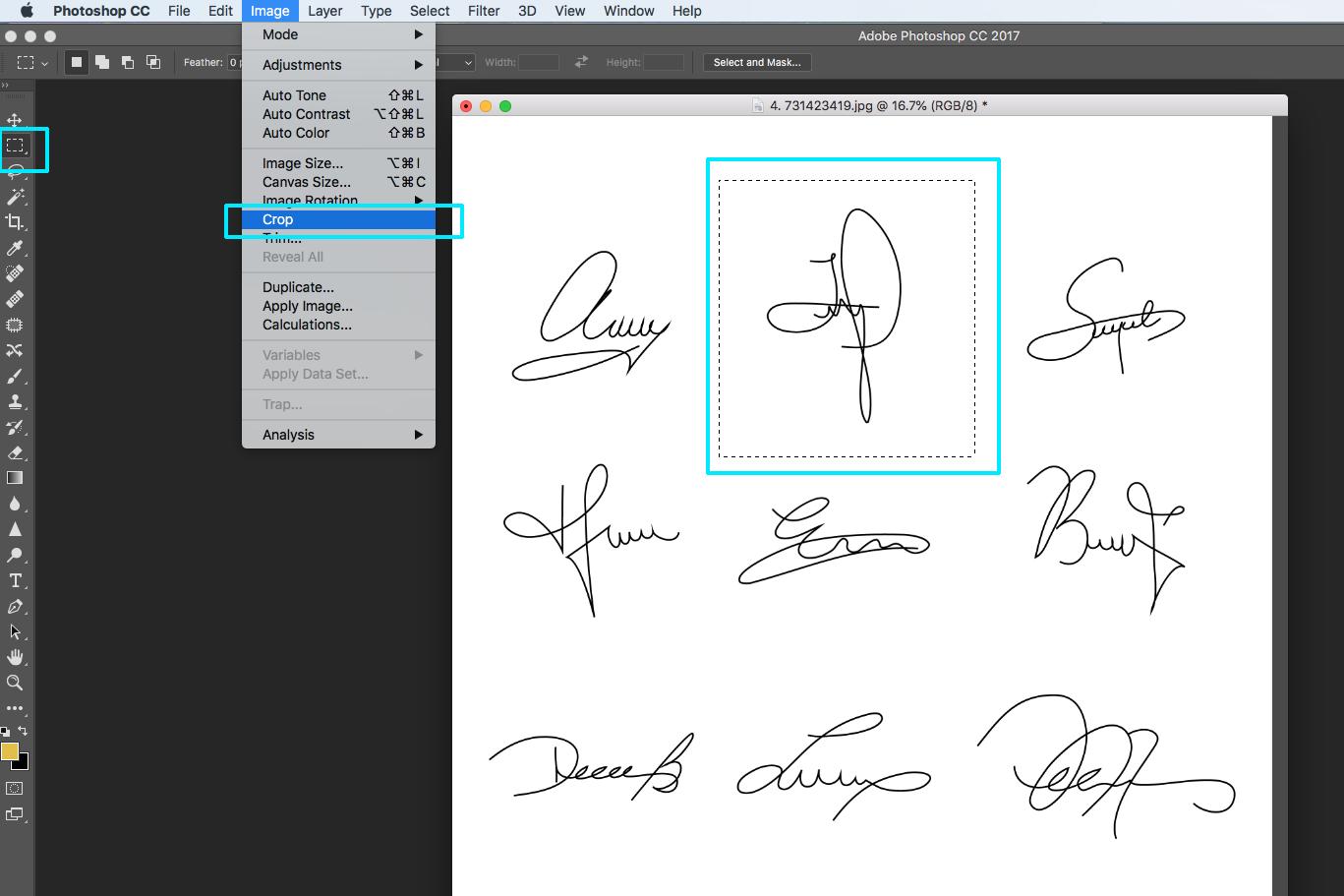 signature watermark logo photoshop