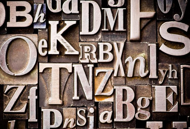 text letters alphabet stamps font