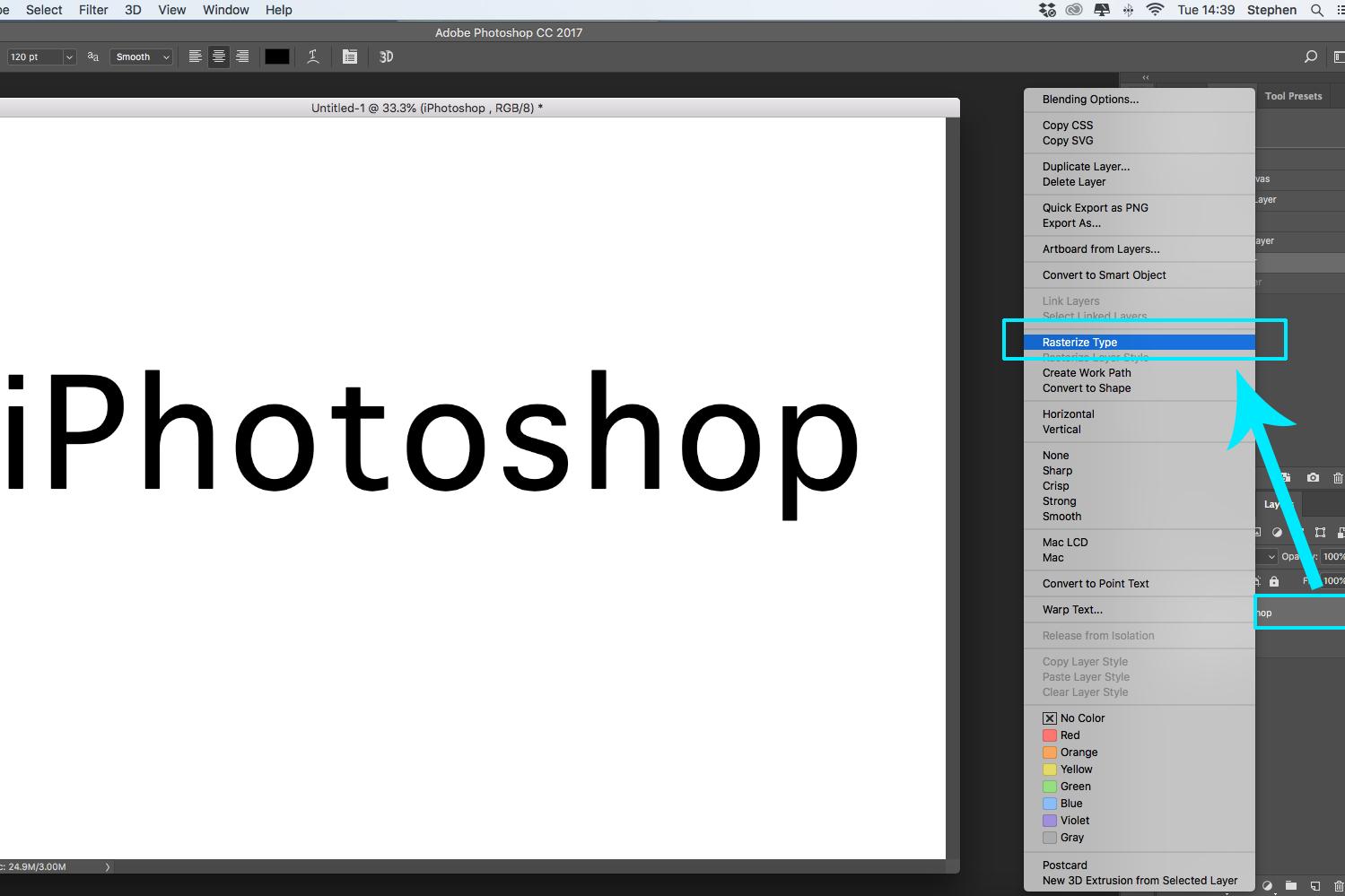 photoshop screenshot layer blend iphotoshop logo watermark