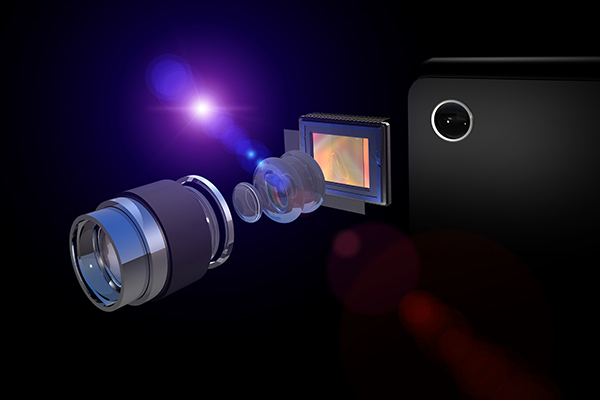 Smartphone sensor photography invention