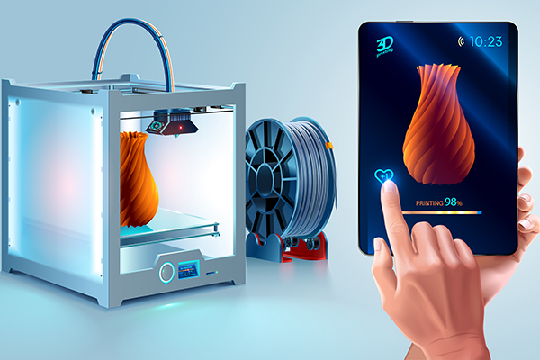 3D printer photography invention